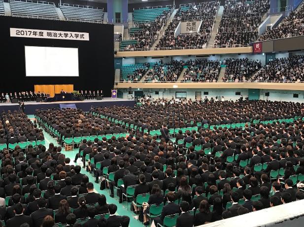 武道館 卒業式