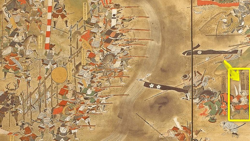 志村けん長篠の戦い