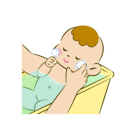 赤ちゃん2ヶ月お風呂