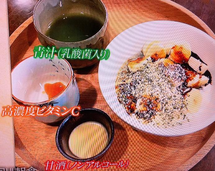 冨永愛の美容朝食メニューサプリ