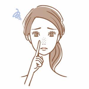 毛穴肌のトラブル